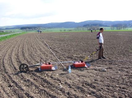 GPR Soil Moisture Content