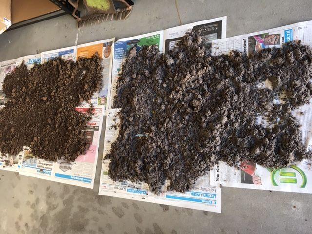 Drying Soil