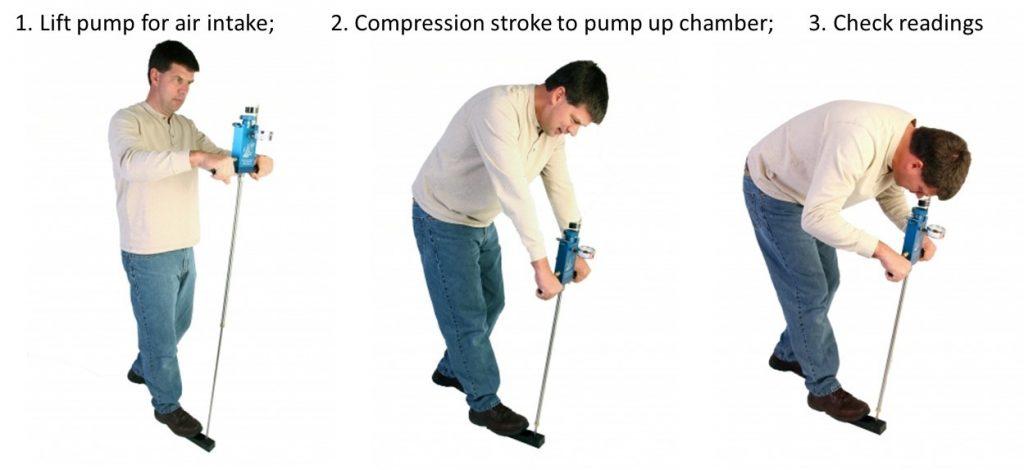 Pump Up Chamber Measurements