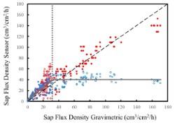 Dual Method Sap Flux Density